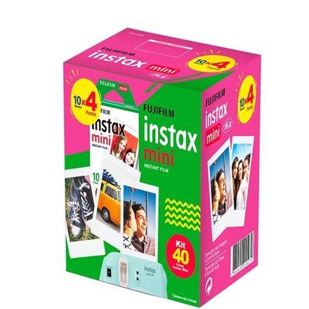 Filme-para-camera-Fujifilm-Instax-Mini-40-Fotos